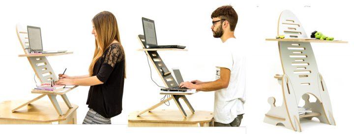 Nómada Desk, a mesa-secretária inovadora que faz bem à sua saúde